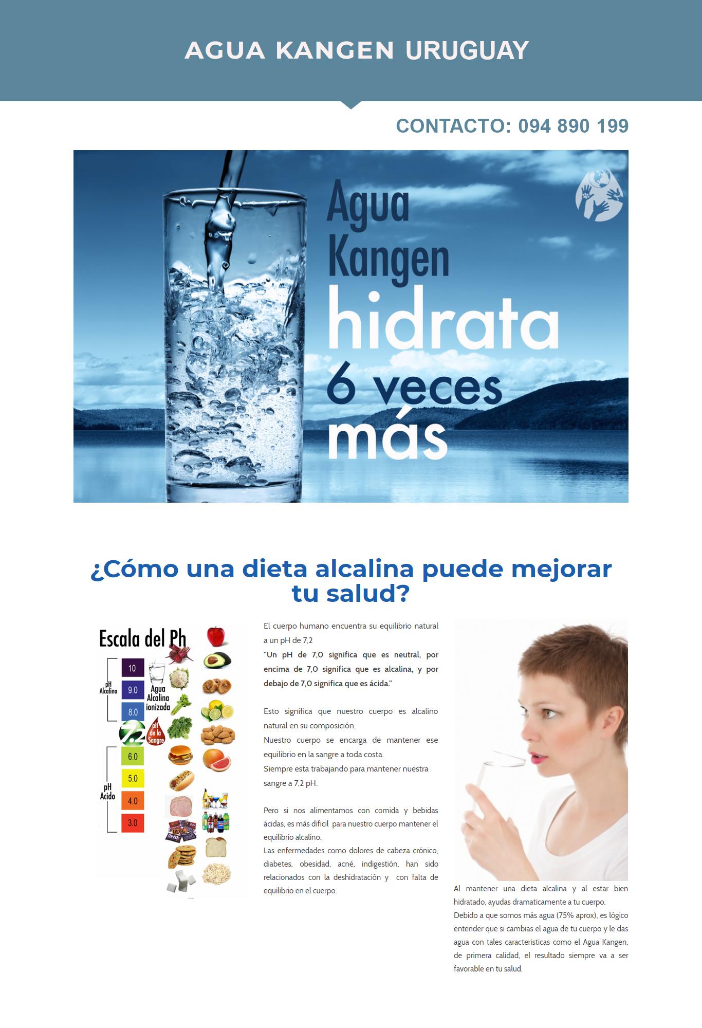 Agua Kagen Uruguay